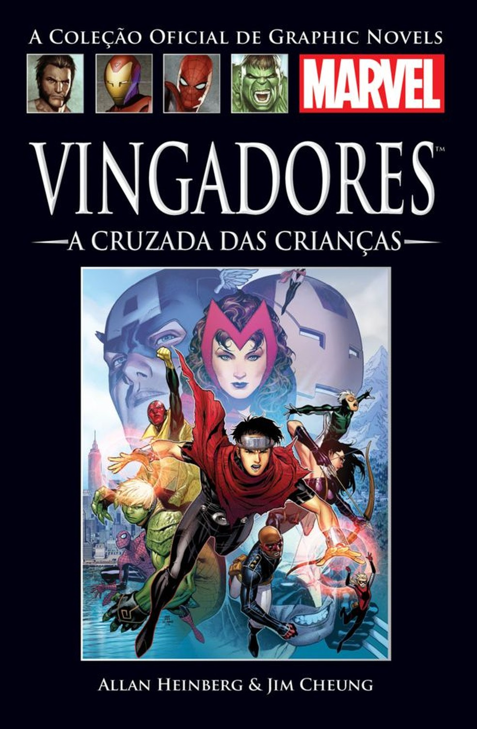 """Capa do livro """"Vingadores - A Cruzada das Crianças"""" — Foto: Divulgação"""
