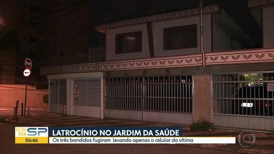 Empresário é morto durante assalto no Sacomã