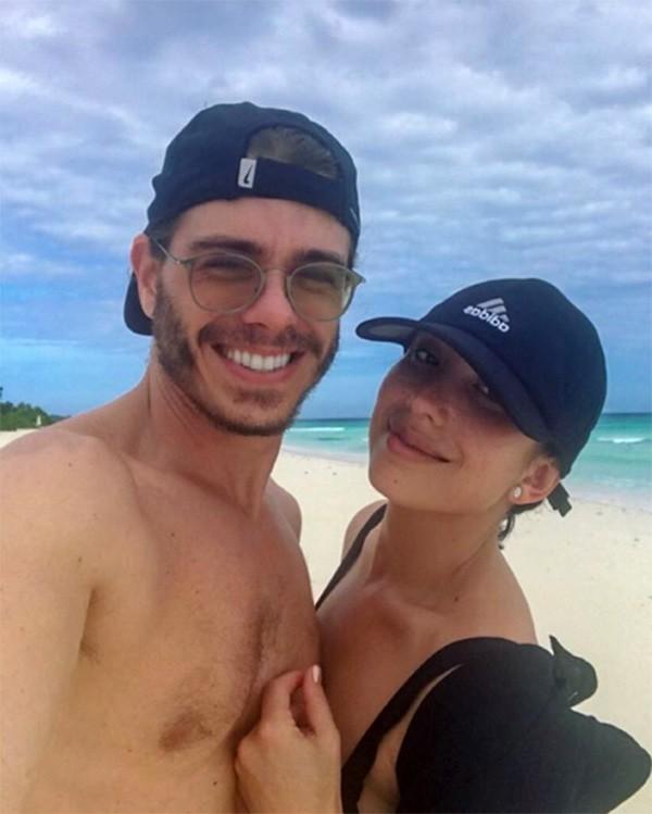 Cheryl Burke e Matthew Lawrence (Foto: Instagram)