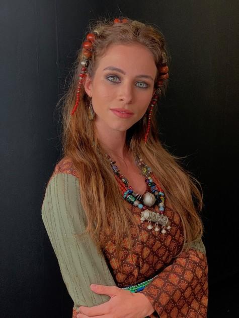 Laryssa Ayres como Sarai em 'Gênesis' (Foto: Divulgação)