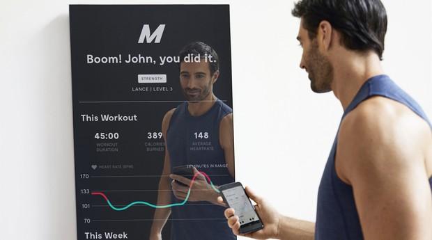 Mirror: tecnologia partiu de uma necessidade pessoal (Foto: Divulgação )