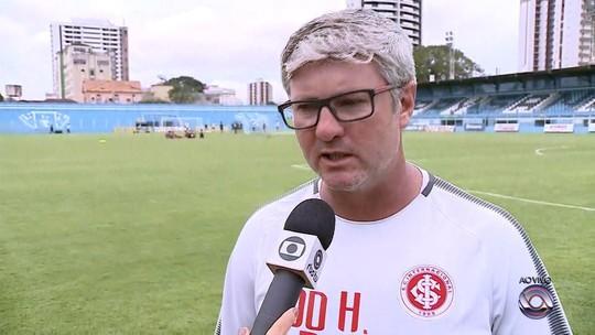 Com treino fechado em Belém, Inter encaminha time para enfrentar o Remo