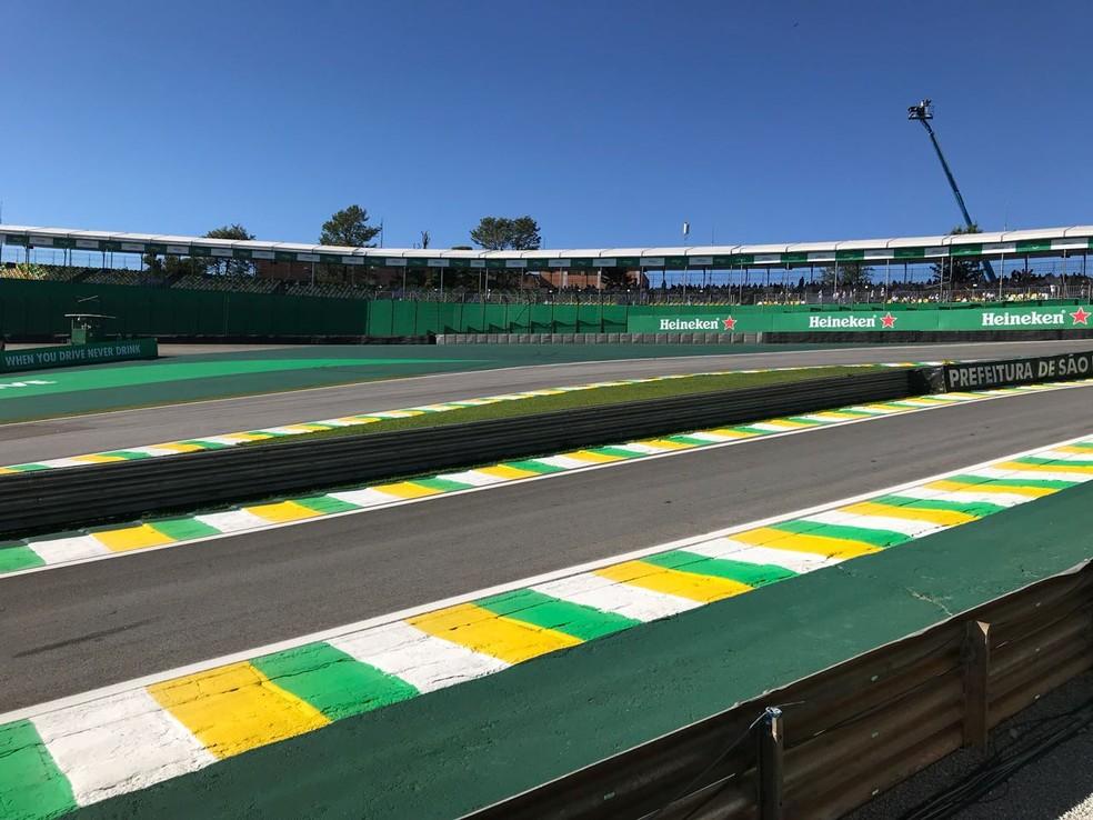 Autódromo de Interlagos tem contrato até 2020 para receber a F1 (Foto: Diego Ribeiro)