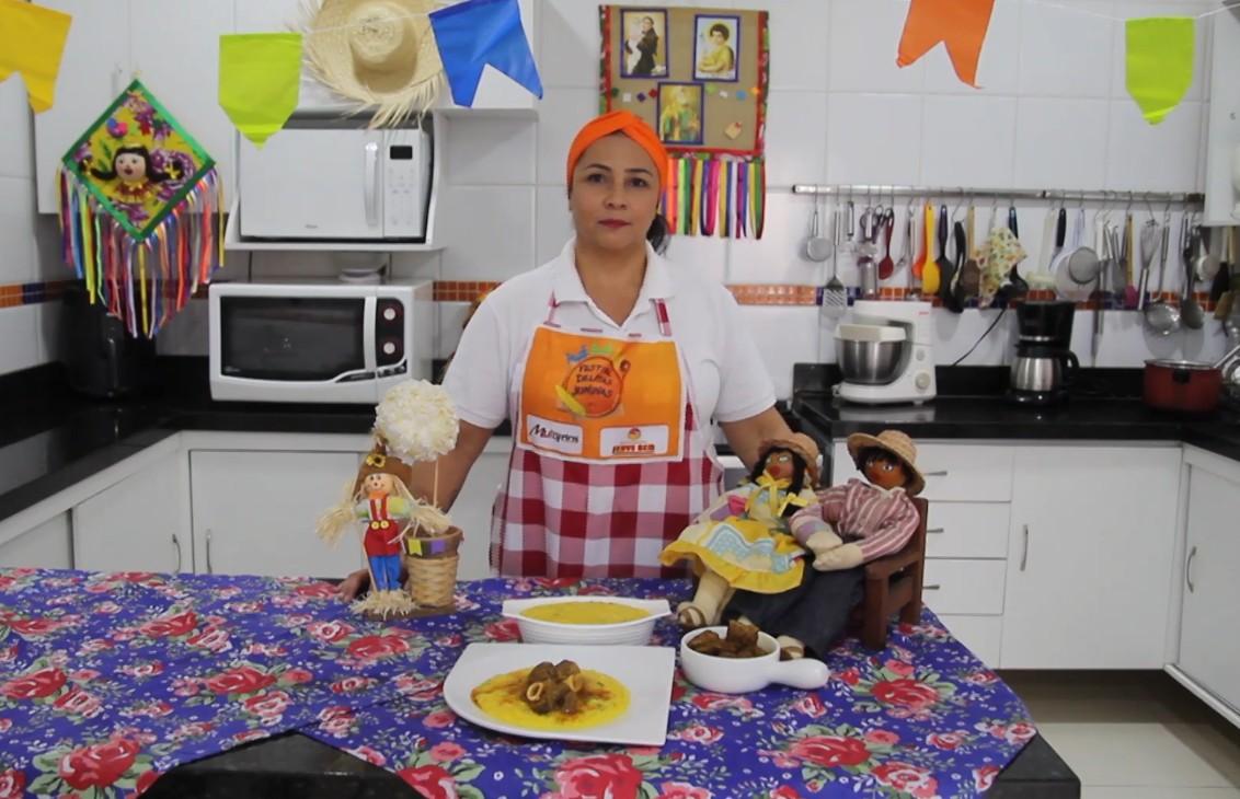 Aprenda a fazer um delicioso Xerém de milho casadinho com o bode sertanejo