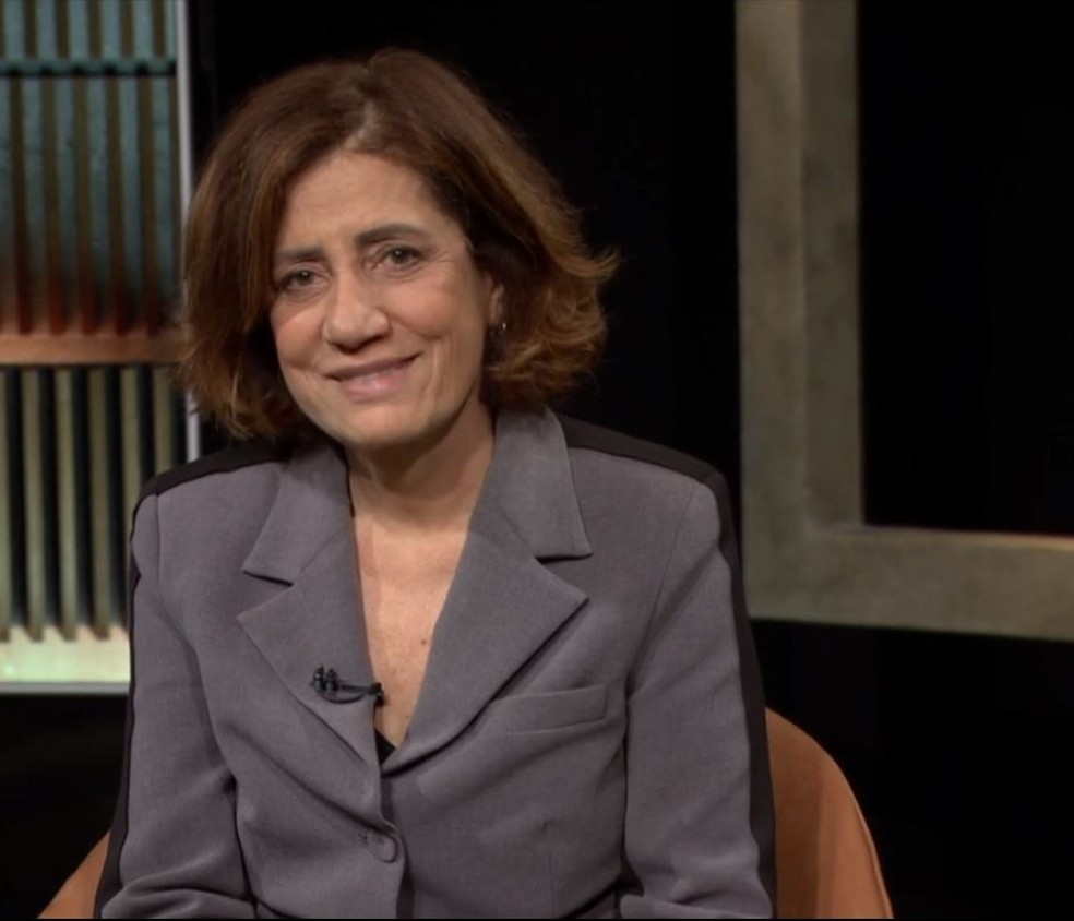 Miriam Leitão discute os fatos recentes da história do país — Foto: GloboNews