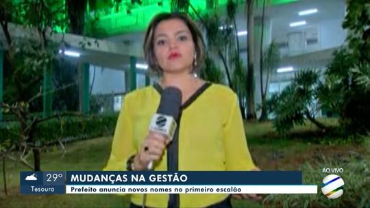 Prefeito de Cuiabá anuncia mudanças na equipe do primeiro escalão