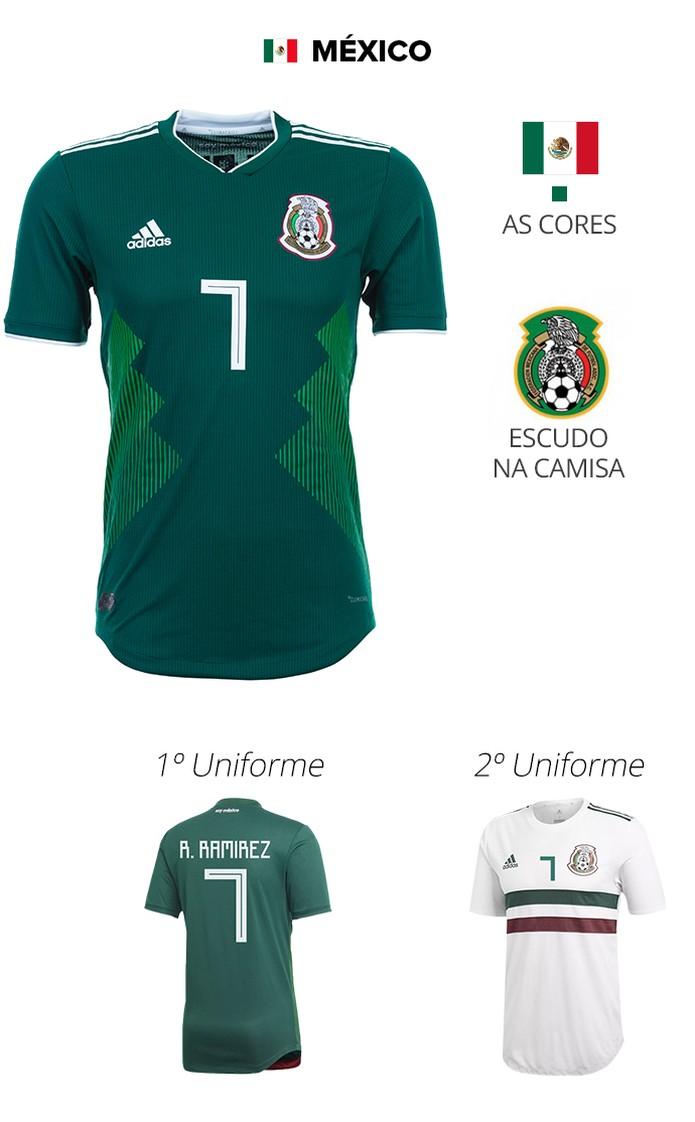 636e2f001a414 As camisas das 32 seleções da Copa | copa 2018 | Sportv