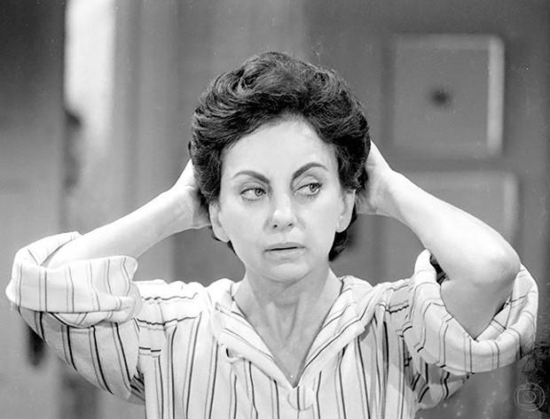Beatriz Segall em Sol de Verão (1982) (Foto: Geraldo Modesto/TV Globo)