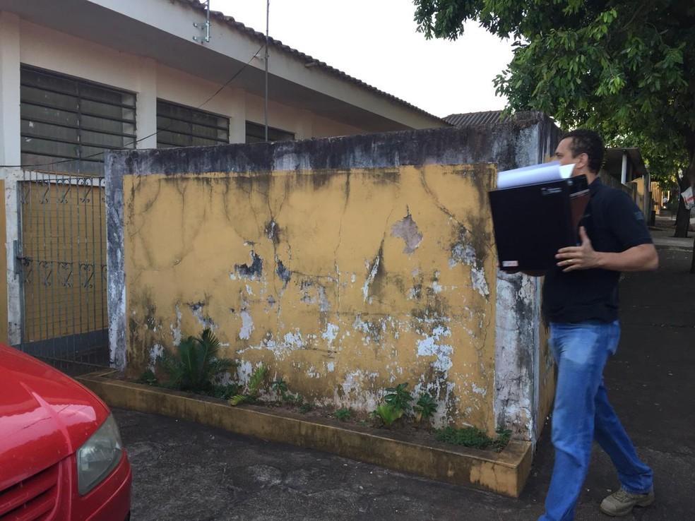 Operação Formigueiro — Foto: Heloise Hamada/TV Fronteira