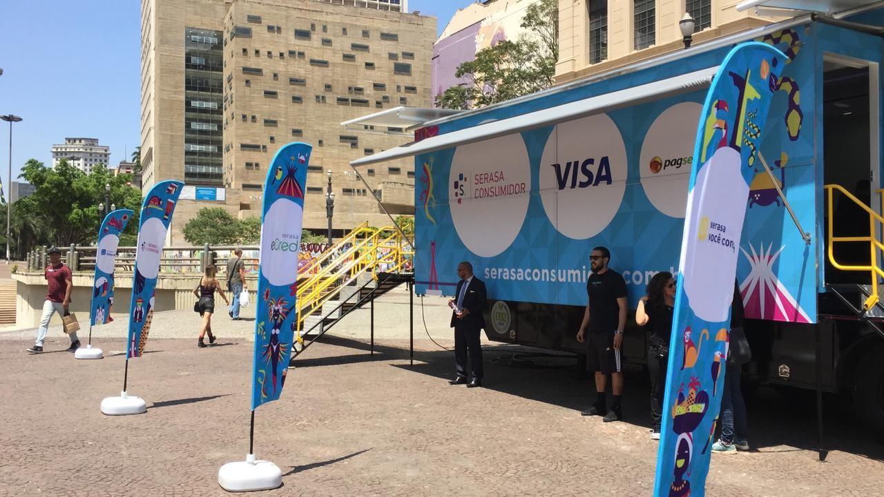 Caminhão itinerante do Projeto Serasa Consumidor está em Aracaju - Notícias - Plantão Diário
