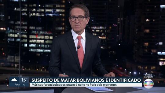 A polícia indentificou suspeito de matar boliviano
