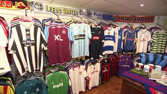 Copa deve aumentar as vendas de camisetas de seleções desconhecidas