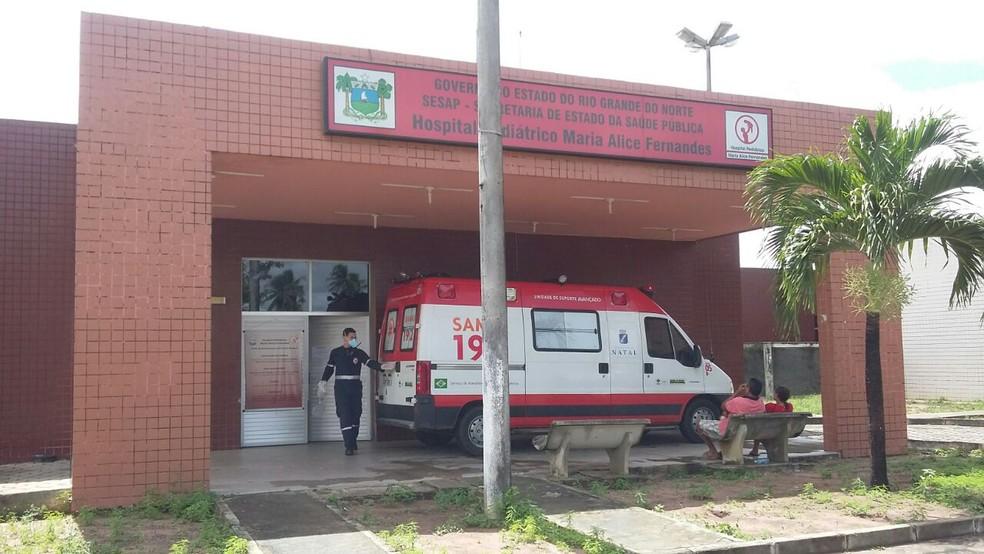 Hospital Maria Alice Fernandes (Arquivo) — Foto: Sérgio Henrique Santos/Inter TV Cabugi