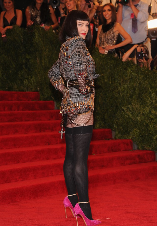 Madonna no Met Gala de 2013 (Foto: Getty Images)