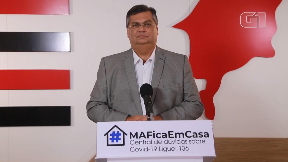 Governador do Maranhão, Flávio Dino (PCdoB). — Foto: Reprodução/Governo do Maranhão