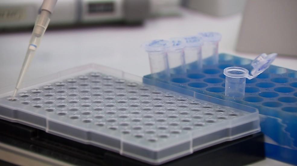 Teste de coronavírus — Foto: Reprodução/RPC