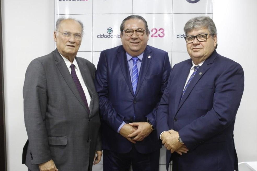 Governador João Azevedo se filia ao Cidadania na Paraíba — Foto: Cidadania/Divulgação