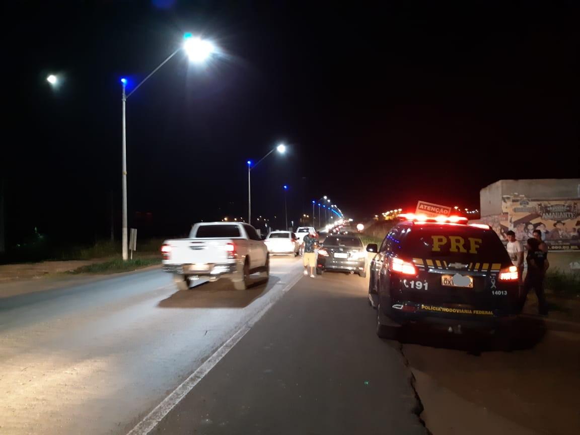 PRF prende motorista embriagado envolvido em acidente na BR-010 no MA - Notícias - Plantão Diário