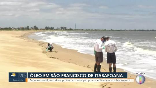 Marinha, Ibama e ANP confirmam  segunda praia do RJ atingida pelo mesmo óleo do Nordeste