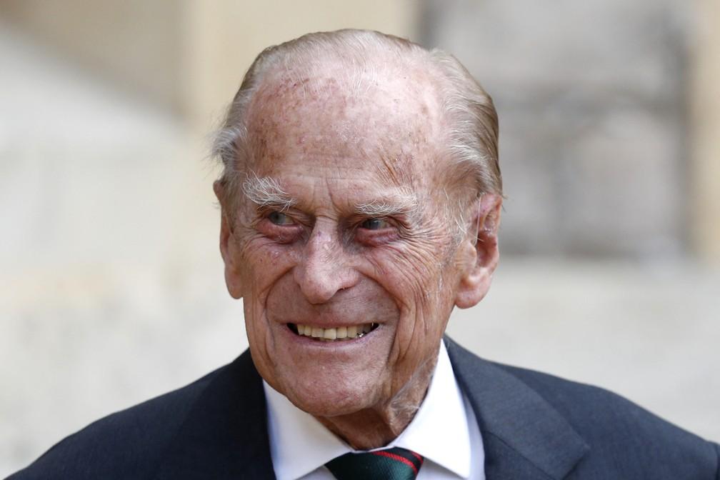 Príncipe Philip — Foto: Adrian DENNIS / POOL / AFP