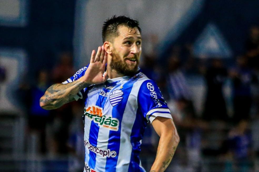 Jonatan Gómez se destacou no CSA em 2019 — Foto: Ailton Cruz - Gazeta de Alagoas