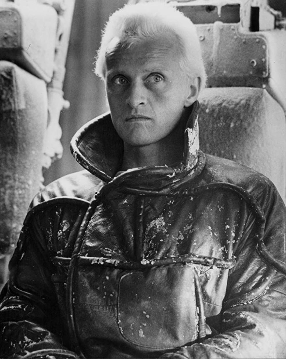 Rutger Hauer em cena de'Blade Runner' (1982) — Foto: Divulgação