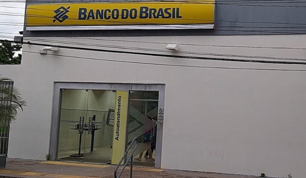 Agência do Banco do Brasil em Governador Nunes Freire.  — Foto: Reprodução/Google Maps