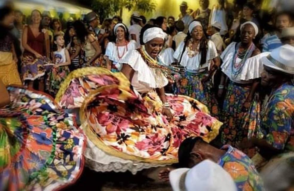 Tambor de crioula do Maranhão — Foto: Márcio Vasconcelos