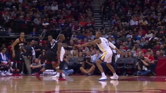 Houston perde, mas Chris Paul brilha com lance impressionante. Veja o vídeo!