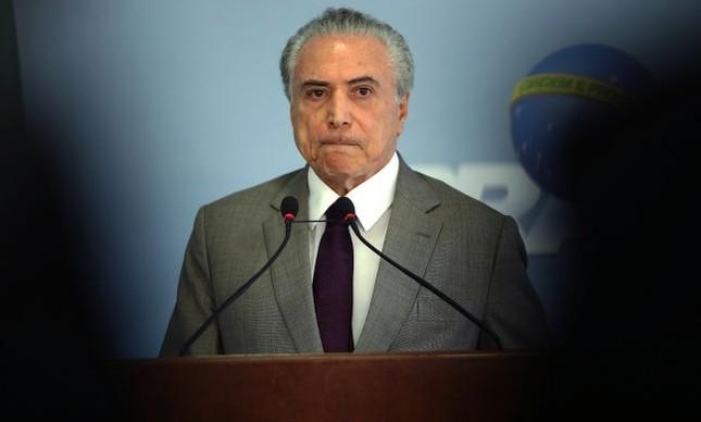 Michel Temer, presidente da República (Foto: Jorge William / Agência O Globo)