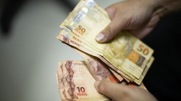 Dinheiro moeda real  (Foto: Marcello Casal jr/Agência Brasil)