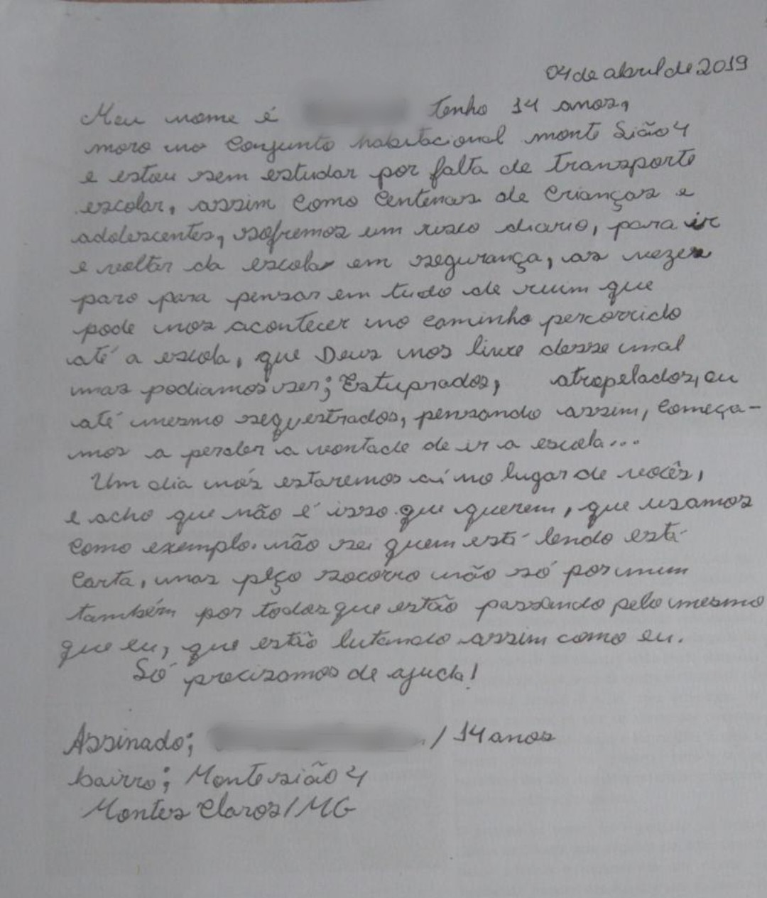 Juiz cita carta de aluno ao obrigar fornecimento de transporte; 'paro para pensar em tudo de ruim que pode nos acontecer no caminho'