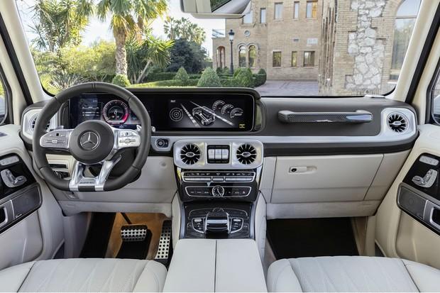 Interior do Mercedes AMG G63  (Foto: Divulgação)