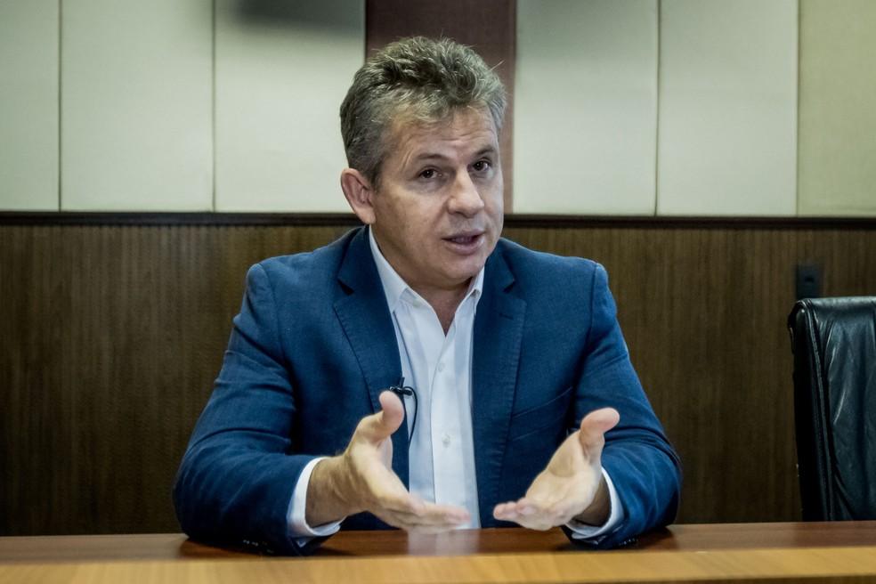 Governador Mauro Mendes (DEM) diz que não questionará decisão da Justiça — Foto: Christiano Antonucci/Secom-MT