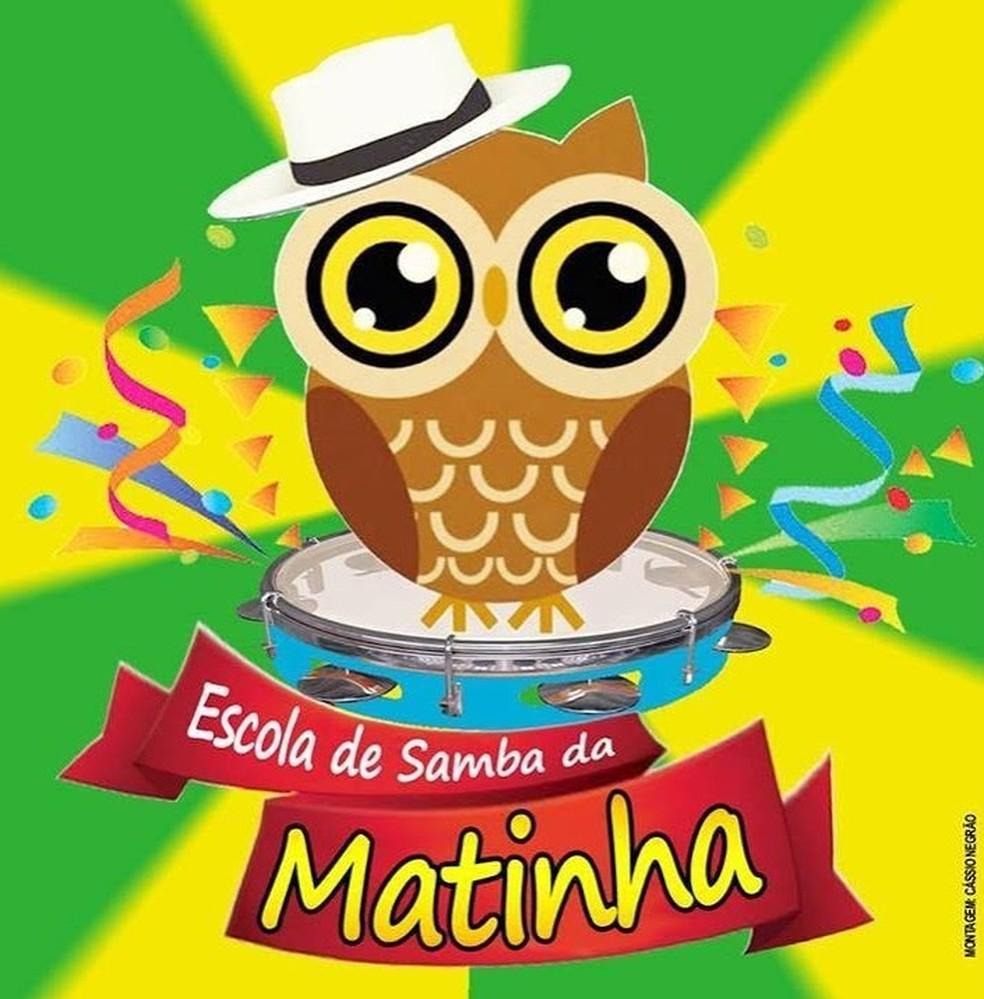 Escola de Samba da Matinha — Foto: Reprodução