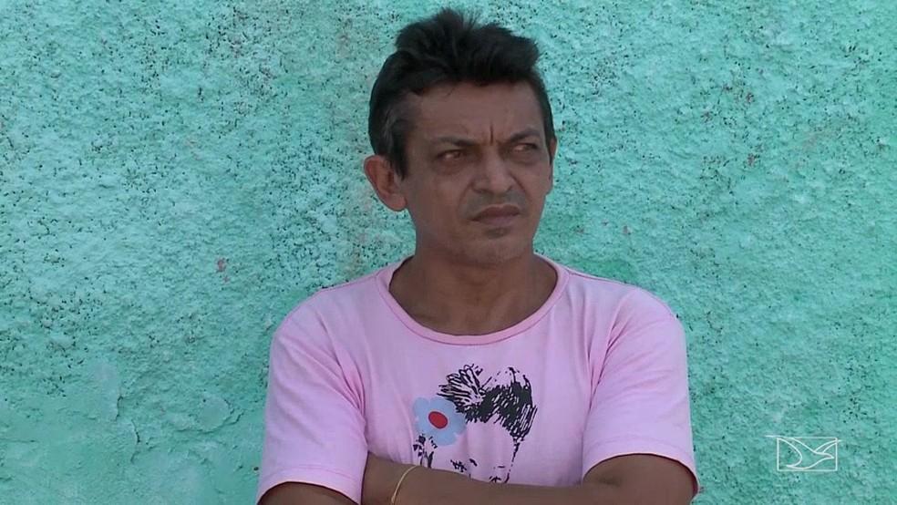 Josafa Alves foi preso por suspeita de maus-tratos contra a mãe, uma idosa de 92 anos.  (Foto: Reprodução/TV Mirante)