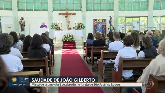 Missa de sétimo dia em homenagem a João Gilberto é celebrada no Rio