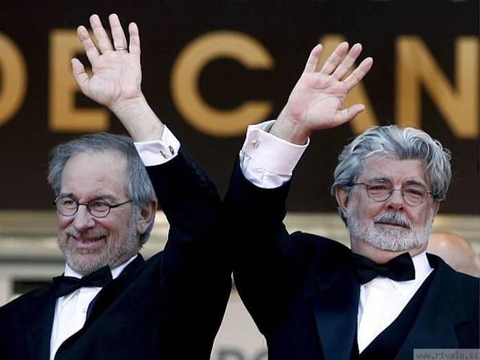 George Lucas com Steven Spielberg (Foto: Flickr/raymond twist)
