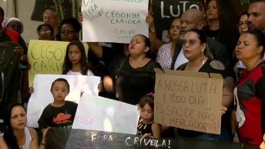 Greve de funcionários terceirizados chega ao 7º dia no Rio