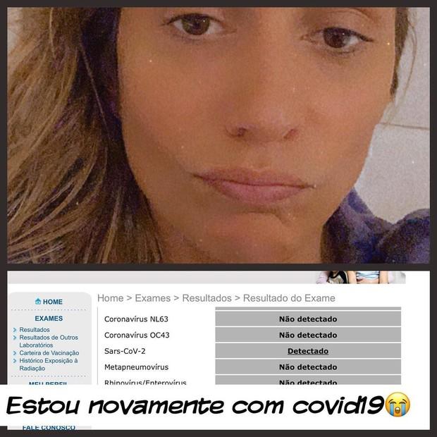 Luisa Mell é refinfectada pela Covid-19 (Foto: Reprodução/Instagram)