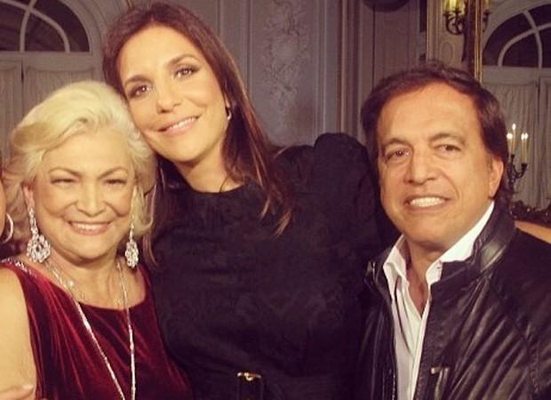 Hebe, Ivete Sangalo e Claudio Pessutti (Foto: Reprodução/ Instagram)
