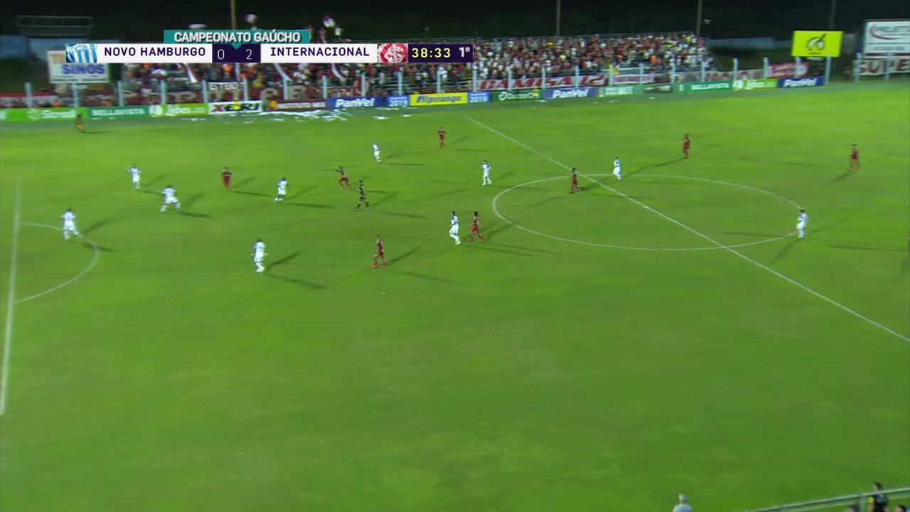 Novo Hamburgo 0x2 Inter - golaço de fora da área - Campeonato Gaúcho 2019