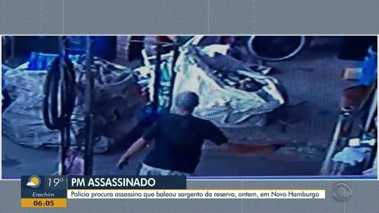 Suspeito de matar sargento da reserva em Novo Hamburgo é preso em Viamão
