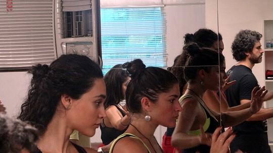 Priscila Fantin, Eriberto Leão e Débora Nascimento caem na dança para nova novela das 6!