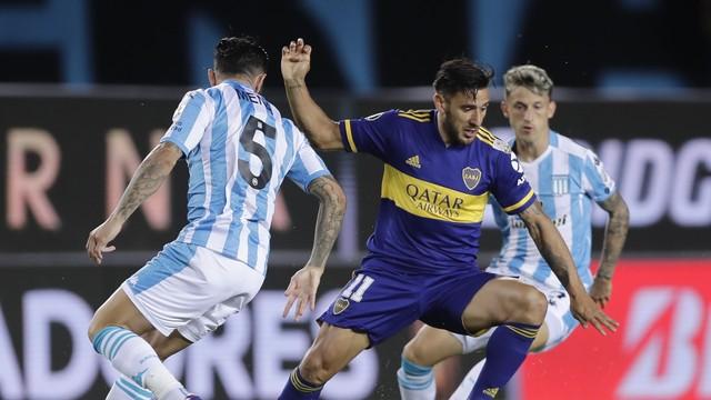 Salvio, Racing x Boca Juniors