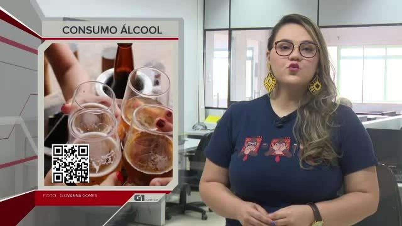 G1 em 1 minuto-AC: Em sete anos, acreanos reduziram consumo de bebida alcoólica e cigarros