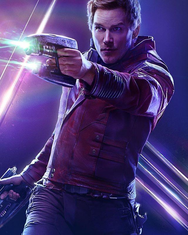 Chris Pratt em Guardiões da Galáxia (Foto: Reprodução/Instagram)