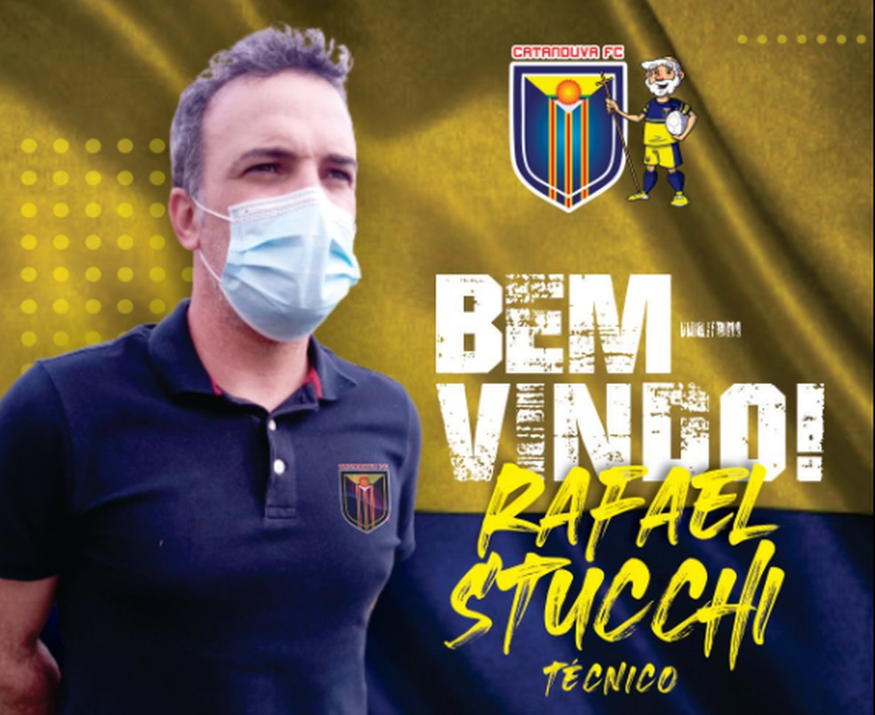 Catanduva anuncia Rafael Stucchi como técnico para a Segundona do Paulistão — Foto: Reprodução/Facebook
