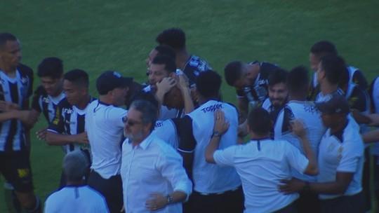 Confira os melhores momentos do empate entre Figueirense e Atlético-GO