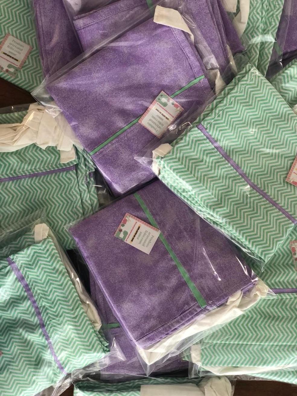 Crianças da UTI neonatal vão receber as doações — Foto: Arquivo pessoal